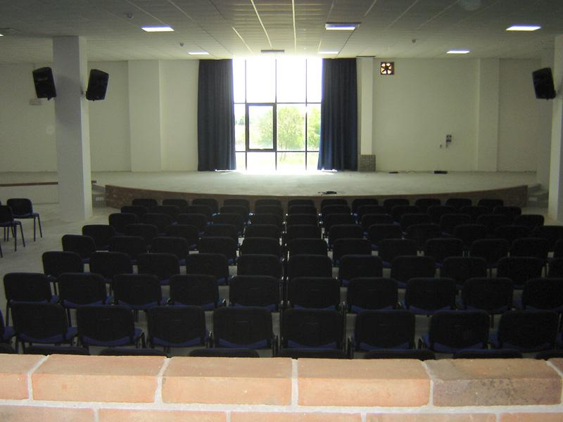 La nuova Sala polifunzionale di Sant'Egidio alla Vibrata